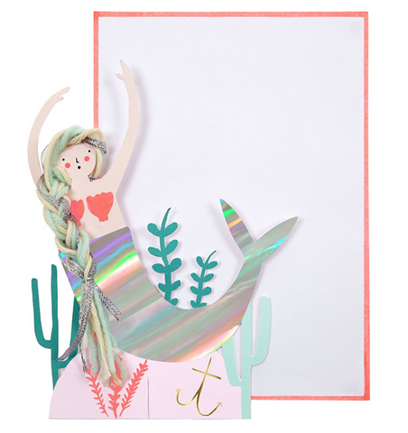 Mermaid Scene Card