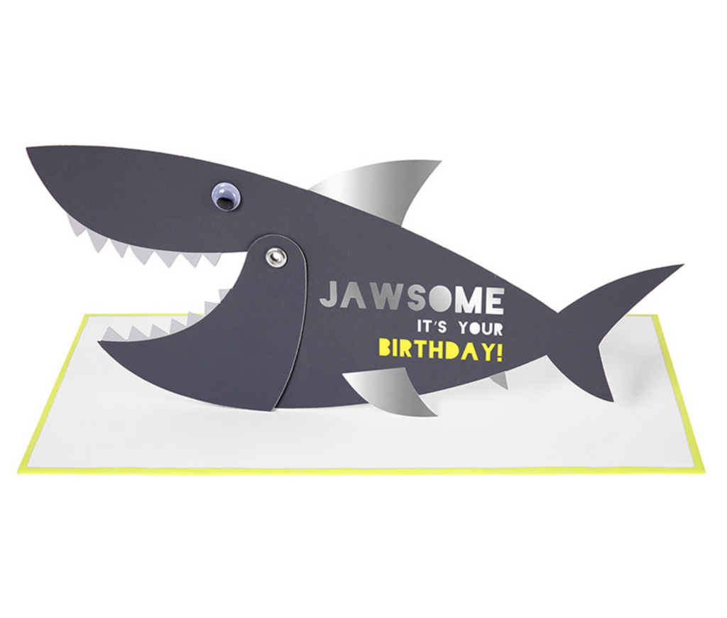 Jawsome Birthday Card