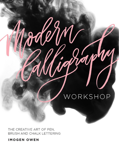 Modern Calligraphy Workshop Book