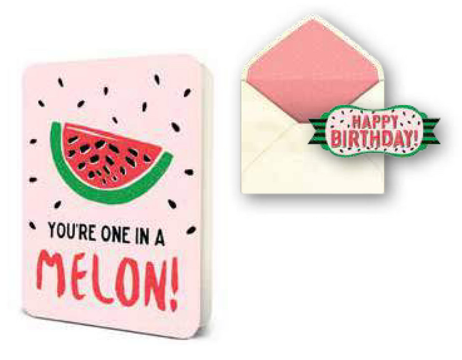 Deluxe One In A Melon Birthday Card