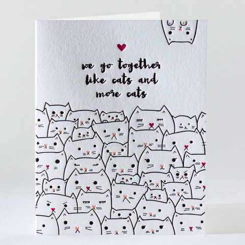 Kitty Friendship/Love Card