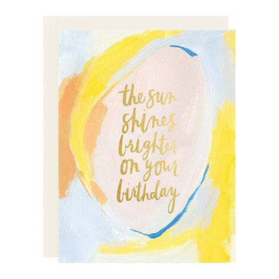 Sun Shines Brighter Card