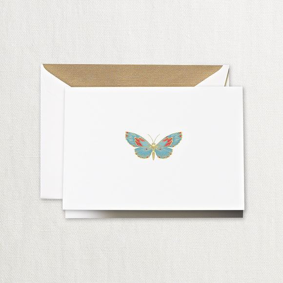 Engraved Butterfly Notes ***