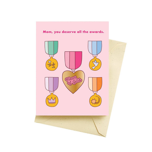 Awards Mother's Day Card