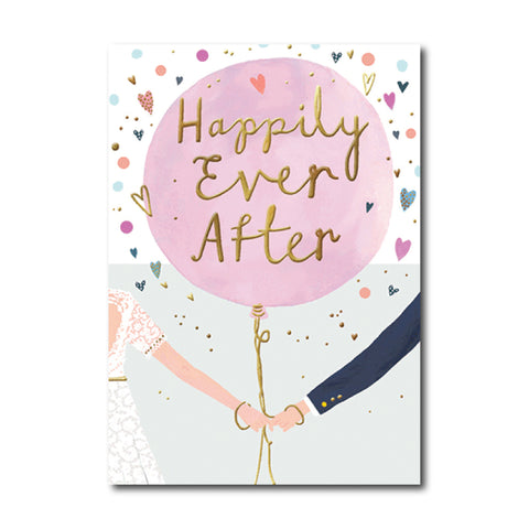 Happily Ever After Balloon Card