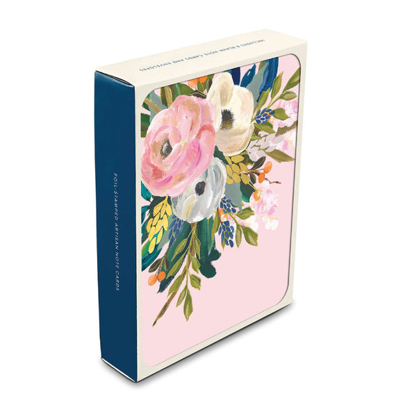 Bella Flora Artisan Note Card Set