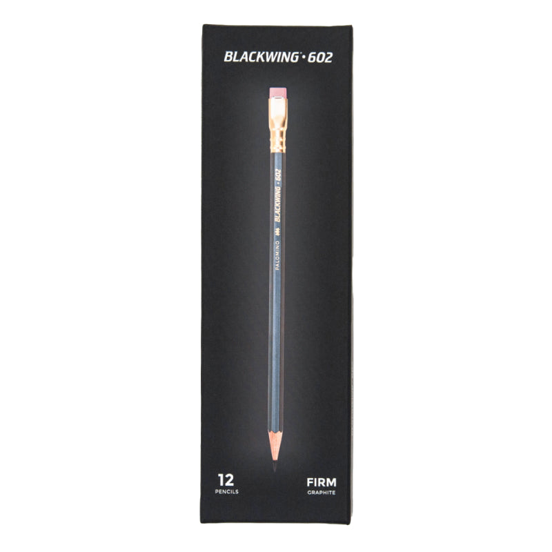 Blackwing 602 (Grey) 12-Pack Pencils, Firm
