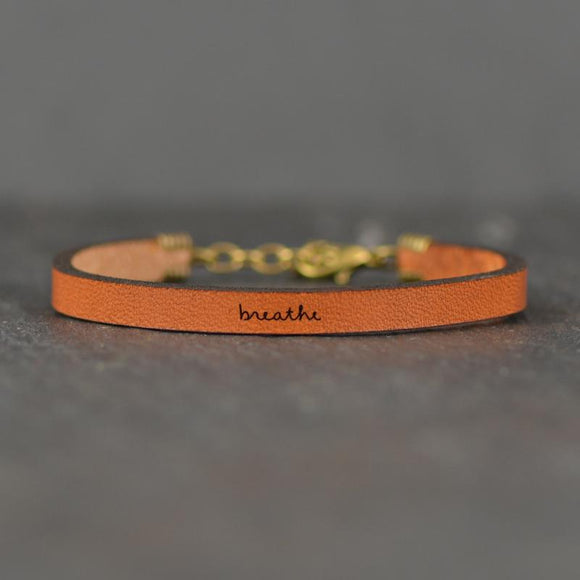 Breathe Leather Bracelet
