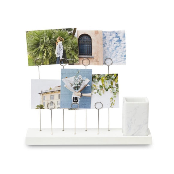 Gala Photo Display - White