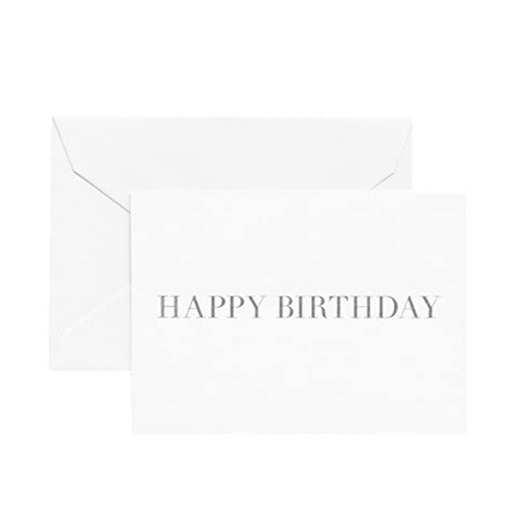 Happy Birthday Boxed Enclosure Cards