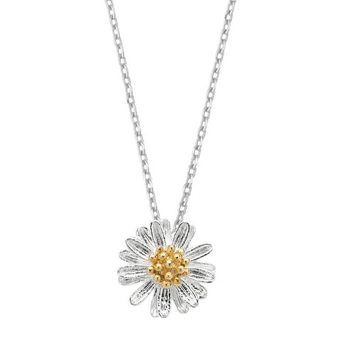 Wildflower Silver Plated Necklace