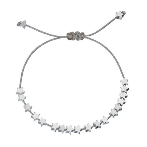 Stars So Bright Silver Friendship Bracelet