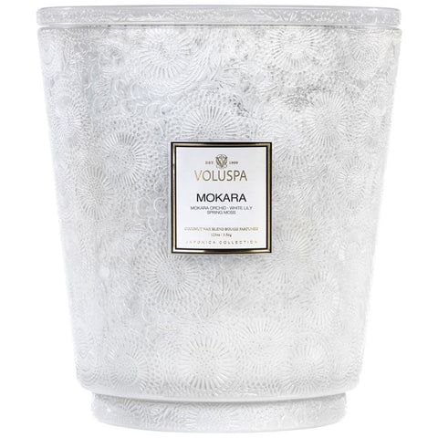 Mokara Hearth Candle