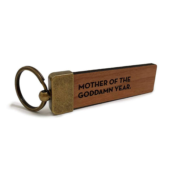 #1001: Mother Of The Year Keychain