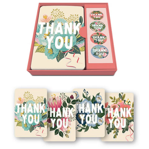 Notecard Set - Thank You Flower Field ***