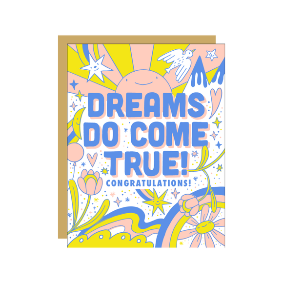 Dreams Do Come True Card