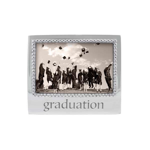 Graduation Beaded 4x6 Statement Frame
