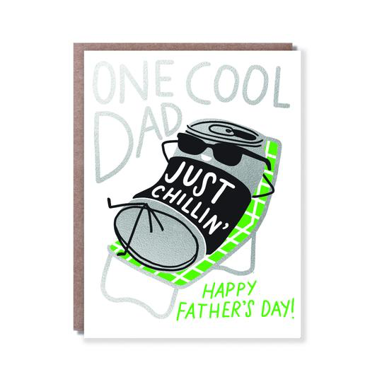 Koozie Dad Card