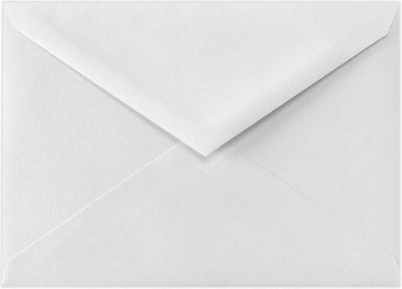 4BAR 70lb. Bright White Envelopes - 10PK