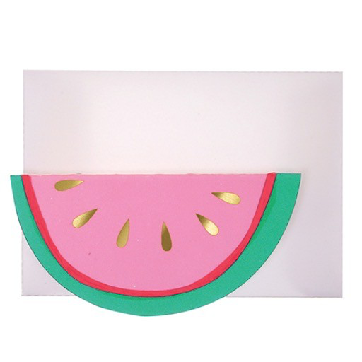 Watermelon Enclosure Card