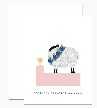World's Greatest Maaaaa Card