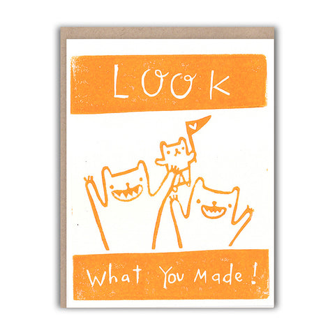 Look What You Made Card