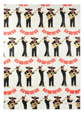 Mariachi Wrapping Sheet