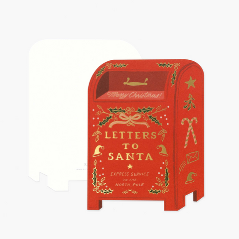 Letters To Santa Cards, Box of 8