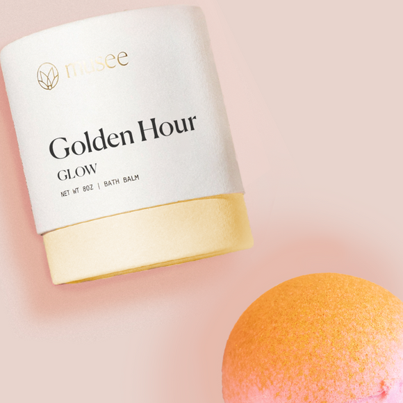 Therapeutic Bath Bomb - Golden Hour