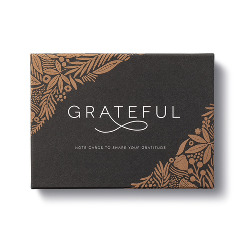 Grateful: Note Cards to Share Your Gratitude