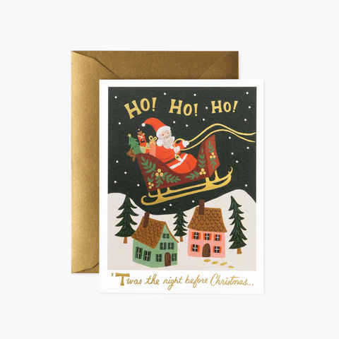 Christmas Delivery Cards, Box of 8