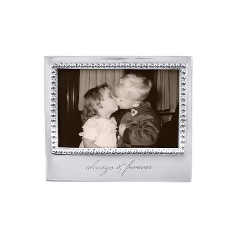Always & Forever Beaded 4x6 Frame