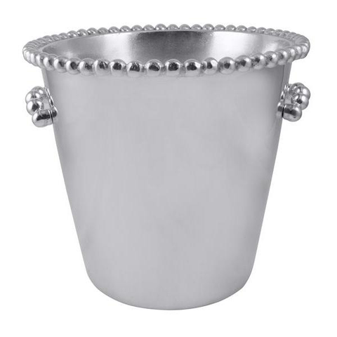 Pearled Individual Ice Bucket, Engraved