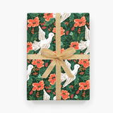 Peace Dove Wrapping Sheet