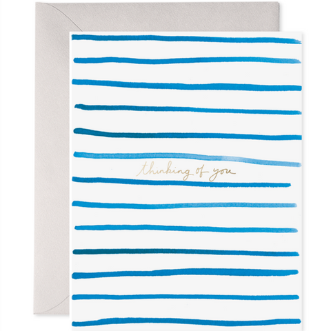 Stripes Thinking of You Card