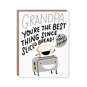 A Toast To Grandpa Card
