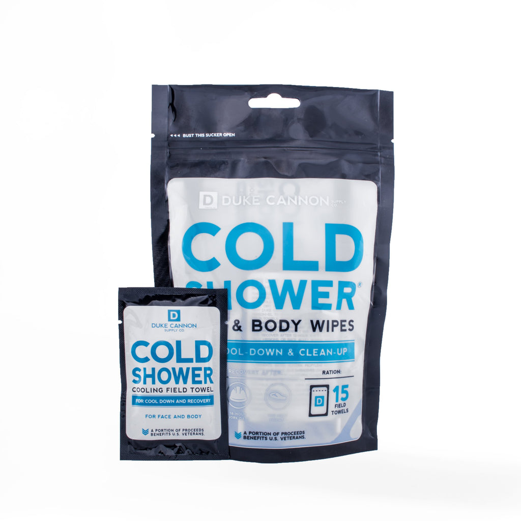Cold Shower Pouch Cooling Towels