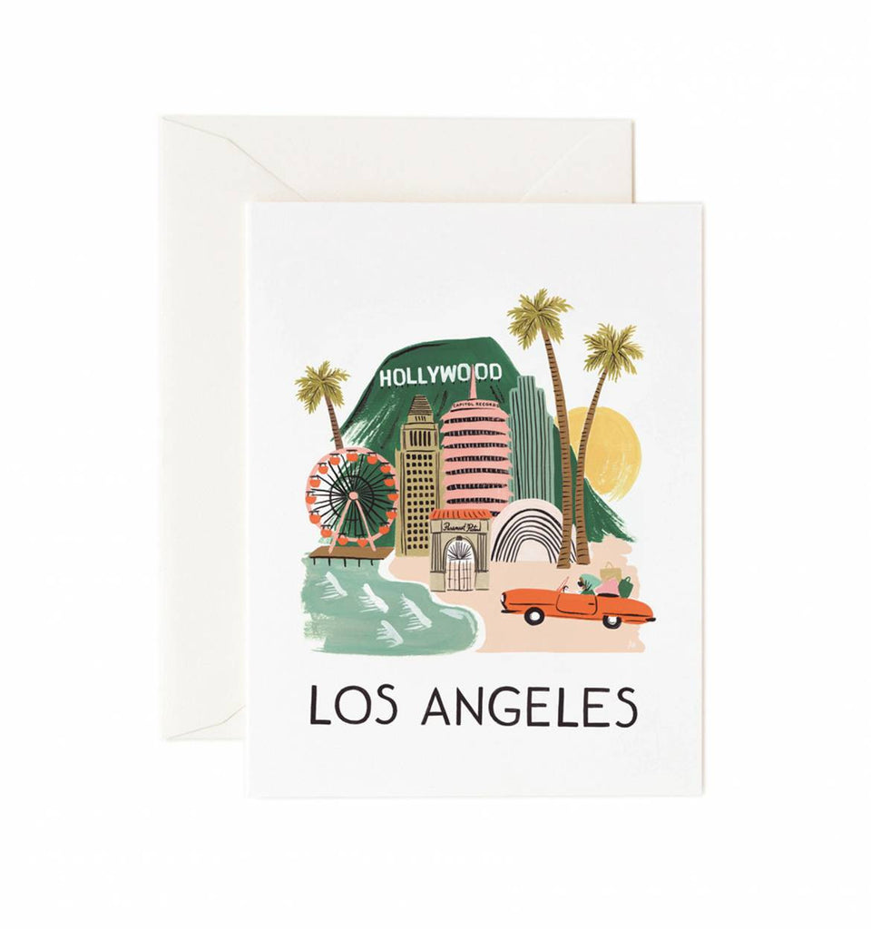 Los Angeles Card ***