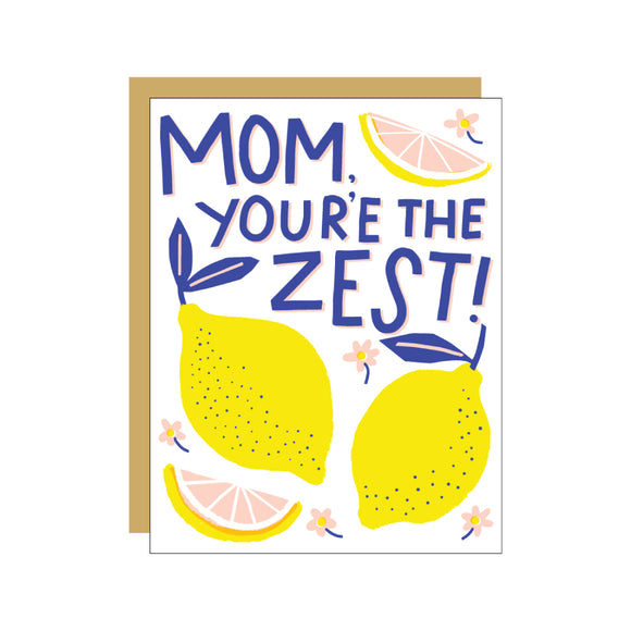 Mom's The Zest Card