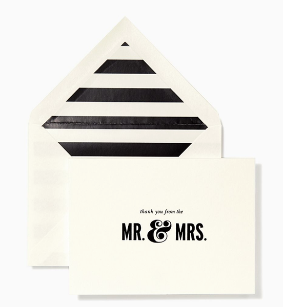 Bridal Note Set - Mr. & Mrs.