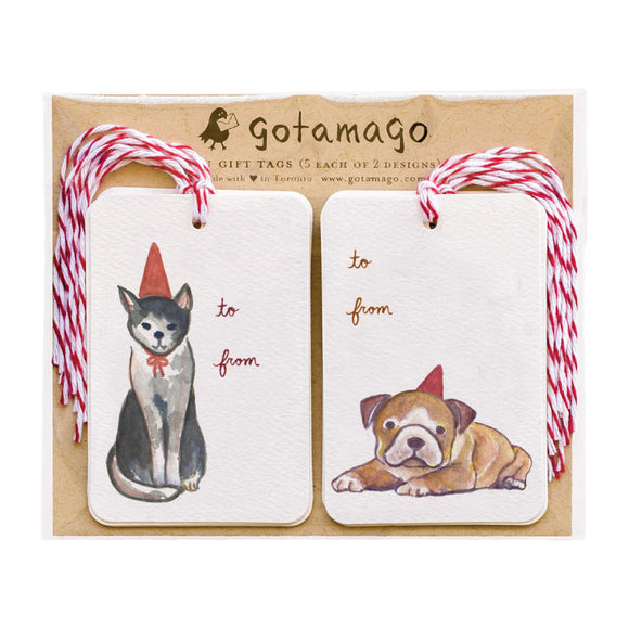Party Animal Gift Tags