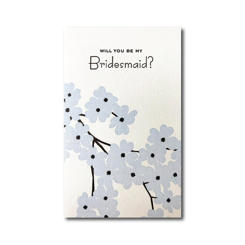 Bridesmaid Dogwood Card - DNR