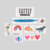 Kids Mix #3 Temporary Tattoo Set