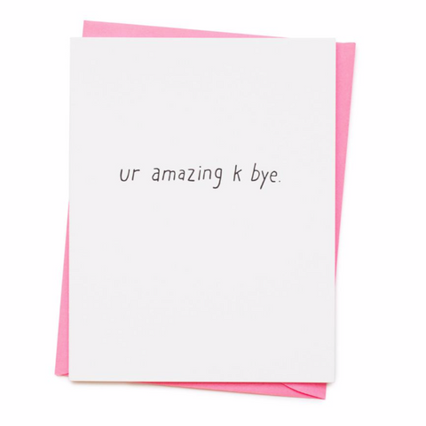 Ur Amazing Card