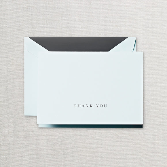 Engraved Beach Glass Thank You Cards ***