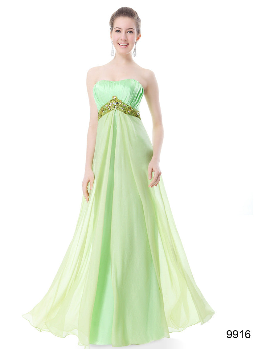 Strapless Long Party Dress