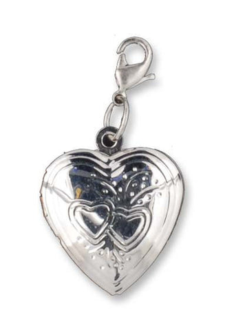 Heart Locket Charm - Keepsake-Memorials