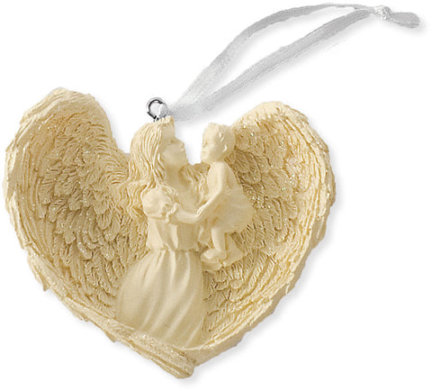 Love Blessing Angel Ornament - Keepsake-Memorials
