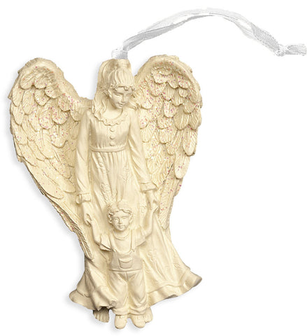 Angel and Child Blessing Ornament - Keepsake-Memorials