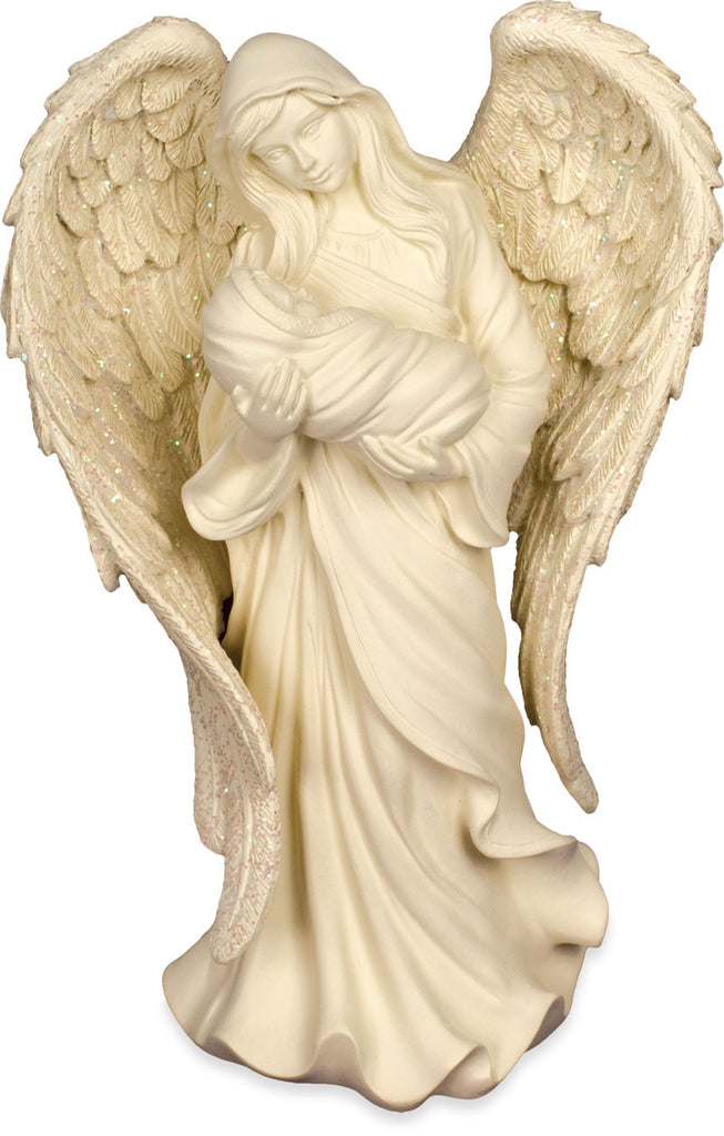 Caring Embrace Angel and Baby Figurine - Keepsake-Memorials
